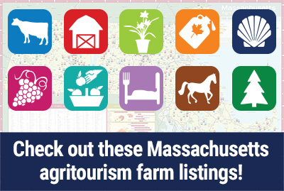 Check out these Massachusetts agritourism farm listings!